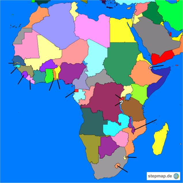 afrika laender: