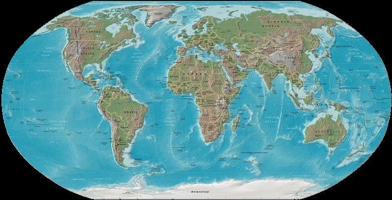 Welt Meere